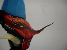 Avatar Painting WIP by xric