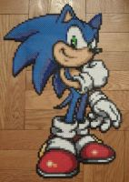 Sonic Bead Sprite by TheSuperBoris