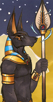 Anubis for Templerlord by cinnamon-kitten