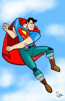 New 52 Animated Superman by Chazzwin