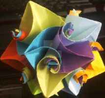 Cuboctahedron by SinisterSeduction