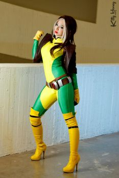 Rogue Bishoujo ver. Cosplay by Kitty-Honey