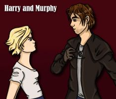 Harry and Murphy by aliceazzo