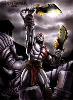 God of War: Victory and Defeat by ReptileCynrik