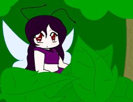Fairy in forest by Inami4