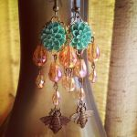 Flower Garden Earrings by wytch-cross