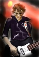 It's Mikey Way... by unleash-the-bats