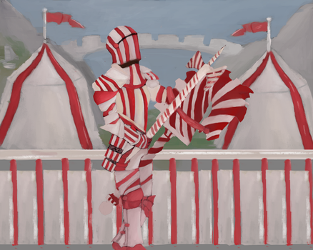 Cg Cookie Candy cane knight entery by Eoinfalcon