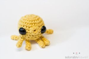 Yellow Octopus by adorablykawaii