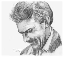 Smiling wryly - Dr. House by not-sleeping