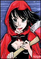 Red Cape - for Dark-Smiter by tea-bug