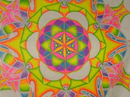 Sacred Geo UV Backdrop- detail by Trancestor
