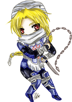 Chibi Sheik by leziith