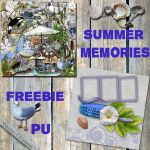 Summer memories freebie by VianneScraps