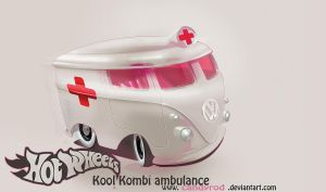 Hot Wheels volkswagen Kool Kombi by candyrod