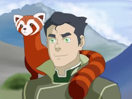 Bolin and Pabu by MoonStar670