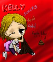 Chibi Kelly by beccahanks