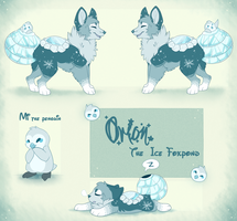 Orion the Ice FoxPond by Maonii