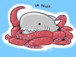 The Cutest Sharktopus by zillabean