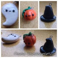 Halloween Kawaii Charms by Creative-4ever