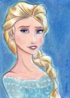 Elsa Let It Go by LEXLOTHOR