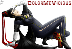 Miss Bayonetta by ColorMeVicious