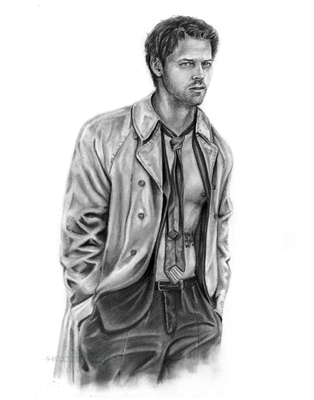 Misha Collins - Castiel - Supernatural by ShonnaWhite