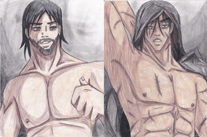 .:Dominic and Duran:. The male Resurai by ANimeMOrganMAnga
