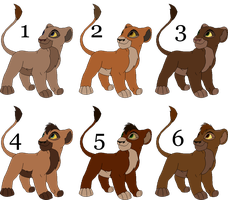 Adoptable Cubs 14 by paintapastime