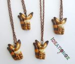 Teto Fox Ghibl Necklaces by Ideationox