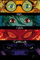 6GG #1 SDCC Exclusive Cover Color by JeffStokely