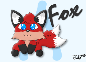 Fox Chibi :Commission: by Tails230