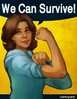 we can do it! by conoyura
