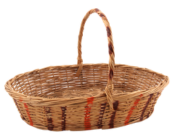 wicker basket by mistyt-stock