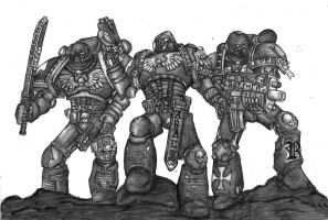 Space Marines by nachonachonacho