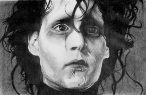 Edward Scissorhands by Skapteryx