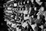 wine cellar bw by spyed