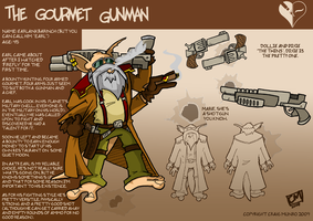 The Gourmet Gunman by CyrilTheWizard