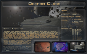 Oberon Class Spec Sheet by Majestic-MSFC