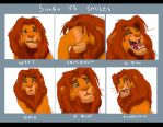 Simba vs Smiles by qeenta