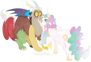 Discord x Celestia by StePandy