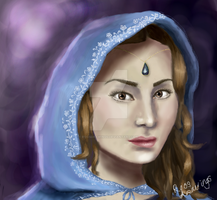 Moiraine wheel of time by roosdrawings