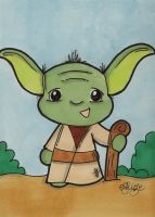 Young Yoda by eileenshige