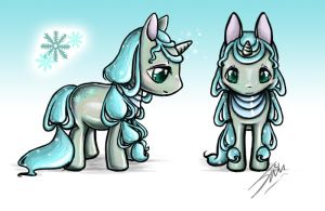 Winter Pony Auction [CLOSED] by Shimochii