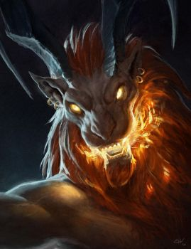 Ifrit by apathie
