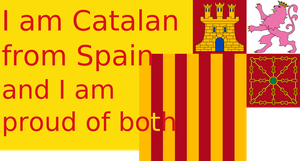 Proud to be Catalan from Spain by hosmich