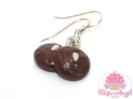 German Lebkuchen Earrings by Metterschlingel