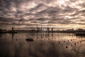 HDR Wearmouth Riverscape by axp7884