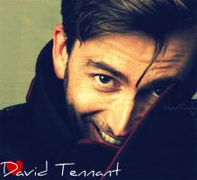 David Tennant x3 by NeonTardis