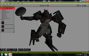 Axis armada DRAGOON Unit by ownerfate